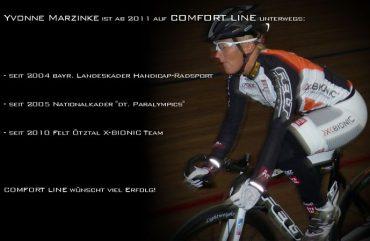 Yvonne Marzinke ist ab 2011 auf COMFORT LINE unterwegs