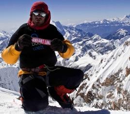 Michael Grünebach mit COMFORT LINE auf über 8.000 Meter