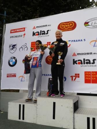 Yvonne Marzinke – Prag 2013 – Start-Ziel-Sieg !