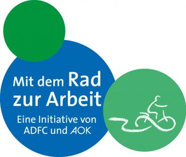 AOK/ADFC Aktion mit dem Rad zur Arbeit!