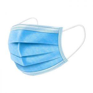 Mund-/Nasenschutz (medizinische Gesichtsmasken / OP-Masken) / 50 Stück medizinisch / CE gekennzeichnet und zertifiziert